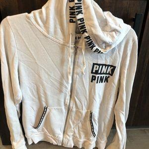PINK by VS full zip-M
